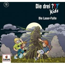 Europa - CD Die Drei ??? Kids - Die Laser Falle, Folge 72