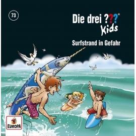 Europa - CD Die Drei ??? Kids - Surfstrand in Gefahr, Folge 73