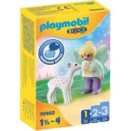 Playmobil® 70402 - 1.2.3 - Feenfreundin mit Rehkitz