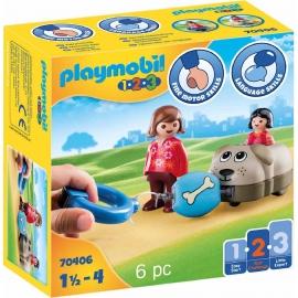 Playmobil® 70406 - 1.2.3 - Mein Schiebehund