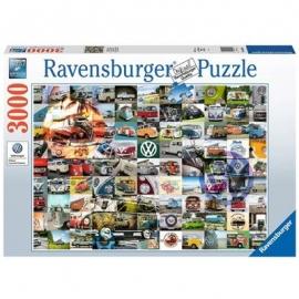 Ravensburger Spiel - 99 VW Bulli Moments, 3000 Teile