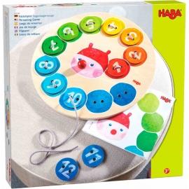 HABA® - Fädelspiel Regenbogenraupe
