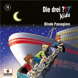 Europa - CD Die drei ??? Kids Blinde Passagiere, Folge 76