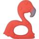 Die Spiegelburg - BabyGlück - Beißring aus Naturkautschuk Flamingo Frida