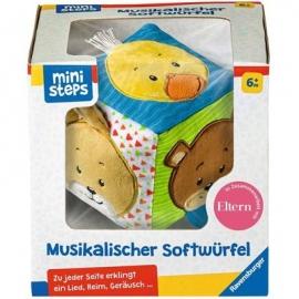 Ravensburger Spiel - ministeps - Musikalischer Softwürfel 20