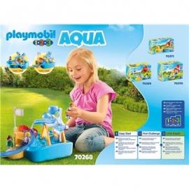 PLAYMOBIL 70268 - 1.2.3. Aqua - Wasserrad mit Karussell