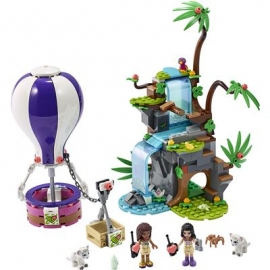 LEGO Friends 41423 - Tiger-Rettung mit Heißluftballon