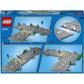 LEGO® City 60304 - Straßenkreuzung mit Ampeln