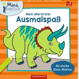 Mein allererster Ausmalspaß: 80 starke Dino-Motive (Mini-K.)