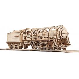 UGEARS Locomotive + Tender