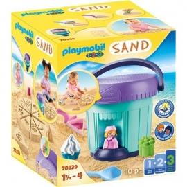 Playmobil® 70339 - 1.2.3. - Kreativset Sandbäckerei