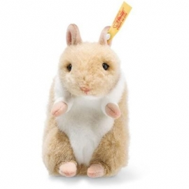 Steiff - Hanno Goldhamster 10cm gold/weiss