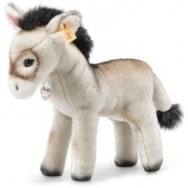 Steiff - Eselie Esel 25cm grau stehend