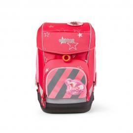 ergobag Zip-Sets mit Reflektorstreifen Pink