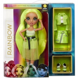 MGA - Rainbow High - Rainbow High Fashion Doll - Karma Nichols, Neon
