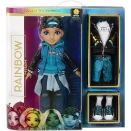 MGA - Rainbow High - Rainbow High Fashion Doll - River Kendall, Teal Boy