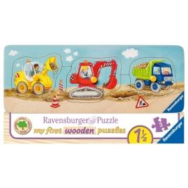 Ravensburger 03066 Puzzle Die kleine Baustelle 5 Teile