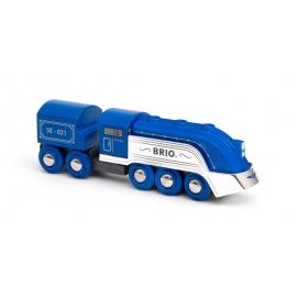 BRIO 63364200 Blauer Dampfzug (Special Edition 2021)