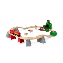 BRIO 63398800 Nordische Waldtiere Set