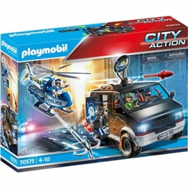 Playmobil® 70575 - City Action - Polizei - Helikopter Verfolgung des Fluchtfahrzeugs