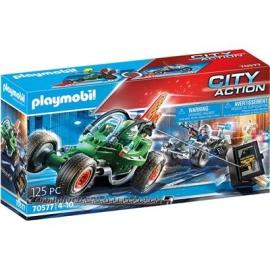 Playmobil® 70577 - City Action - Polizei - Kart Verfolgung des Tresorräubers