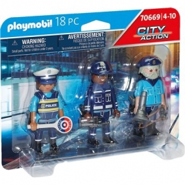 Playmobil® 70669 - City Action - Polizei - Figurenset Polizei