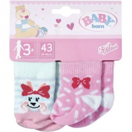 Zapf Creation - BABY born Socken 2x, 43 cm