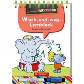 Coppenrath Verlag - Lernerfolg Vorschule - Zahlen&Mengen - Wisch-&-weg-Lernblock