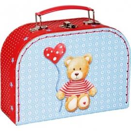 Die Spiegelburg - BabyGlück - Geschenkset Teddy im Köfferchen