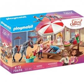 Playmobil® 70696 - Spirit Riding Free - Miradero Süßigkeitenstand