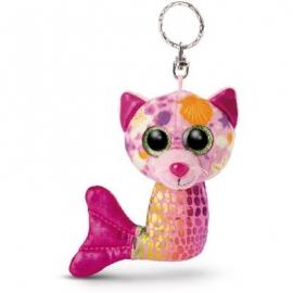NICI - Glubschis Mermaid - Schlüsselanhänger Katze Aqua-Marie 11cm