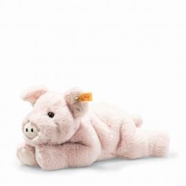 Steiff Piko Schwein 28 rosa liegend