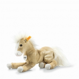 Steiff Dusty Schlenker Pony 26 blond