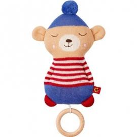 Die Spiegelburg - BabyGlück - Strick-Spieluhr Teddy