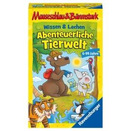 Ravensburger 20737 Mauseschlau&Bärenstark Wissen und Lachen - Abenteuerliche Tierwelt