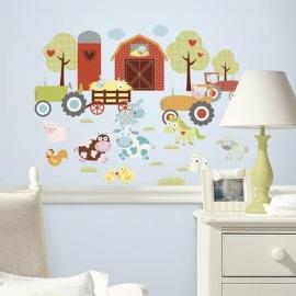 RoomMates Happi Bauernhof