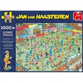 Jumbo Spiele - Jan van Haasteren - WM Frauen Fußball - 1000 Teile