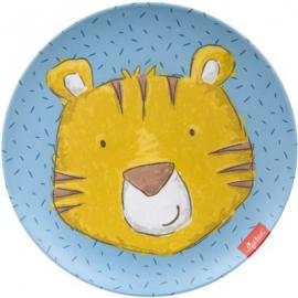 sigikid - Babytoys - Melamin Teller, Tiger