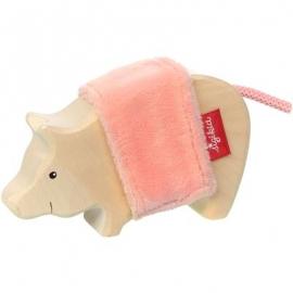 sigikid - Softplay - Holztier Schwein, Cudly Wudly