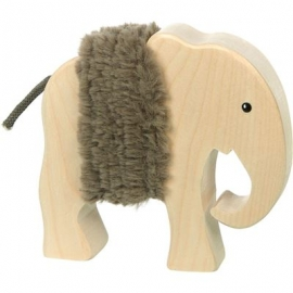 sigikid - Softplay - Holztier Elefant, Cudly Wudly