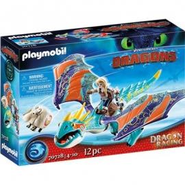 Playmobil® 70728 - Dragon Racing - Astrid und Sturmpfeil
