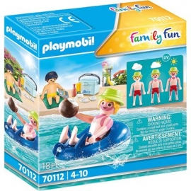 Playmobil® 70112 - Family Fun - Badegast mit Schwimmreifen