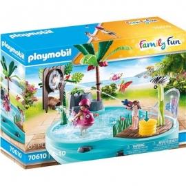 Playmobil® 70610 - Family Fun - Spaßbecken mit Wasserspritze