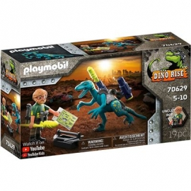 Playmobil® 70629 - Dino Rise - Uncle Rob - Aufrüstung zum Kampf