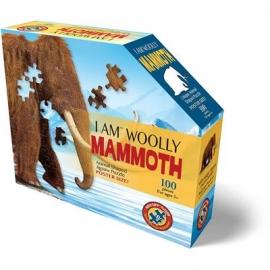 Madd Capp - Konturpuzzle Junior Mammut 100 Teile