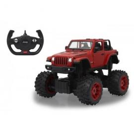 Jamara - Jeep Wrangler JL - Big Wheel 2,4 GHz B  1:14 rot