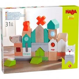 HABA® - Bausteine Hund und Katze