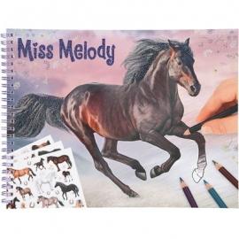 Depesche - Miss Melody - Pferde Malbuch