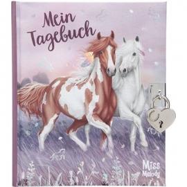 Depesche - Miss Melody Tagebuch mit Stickern, Motiv 1