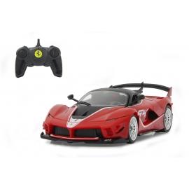 Jamara - Bausatz, Ferrari FXX K Evo 1:18 rot 2,4GHz